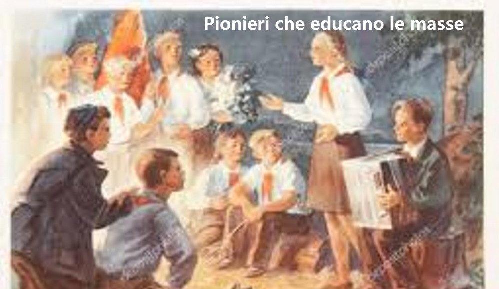 Pionieri nella rivoluzione bolscevica