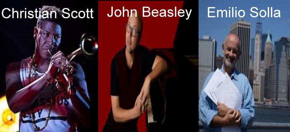 Christian Scott, John Beasley e Emilio Solla