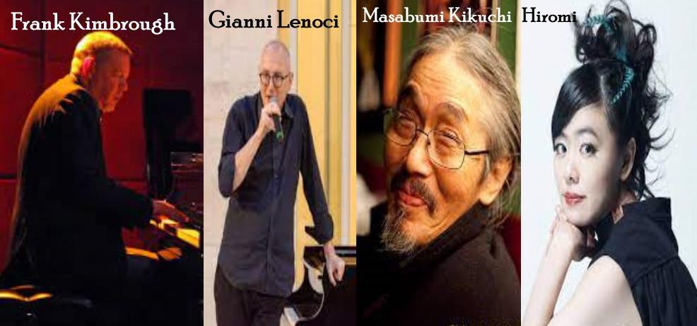 Masabumi Kikuchi, Gianni Lenoci, Frank Kimbrough e Hiromi Uehara